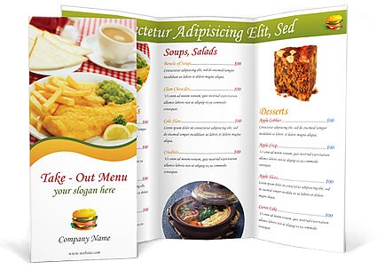 300gsm Folded Leaflets and Flyers