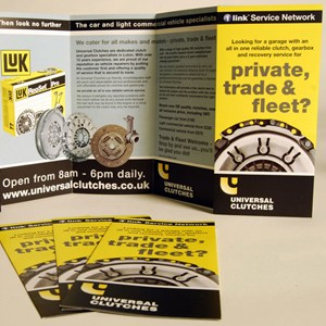 170gsm Folded Leaflets and Flyers