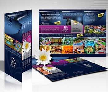 130gsm Folded Leaflets and Flyers